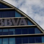 The headquarters of the Spanish bank BBVA are seen in Madrid  Spain  June 12  2018  REUTERS Juan Medina